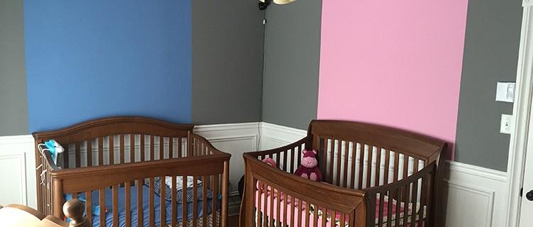 Peinture intérieure - Chambre d'enfant